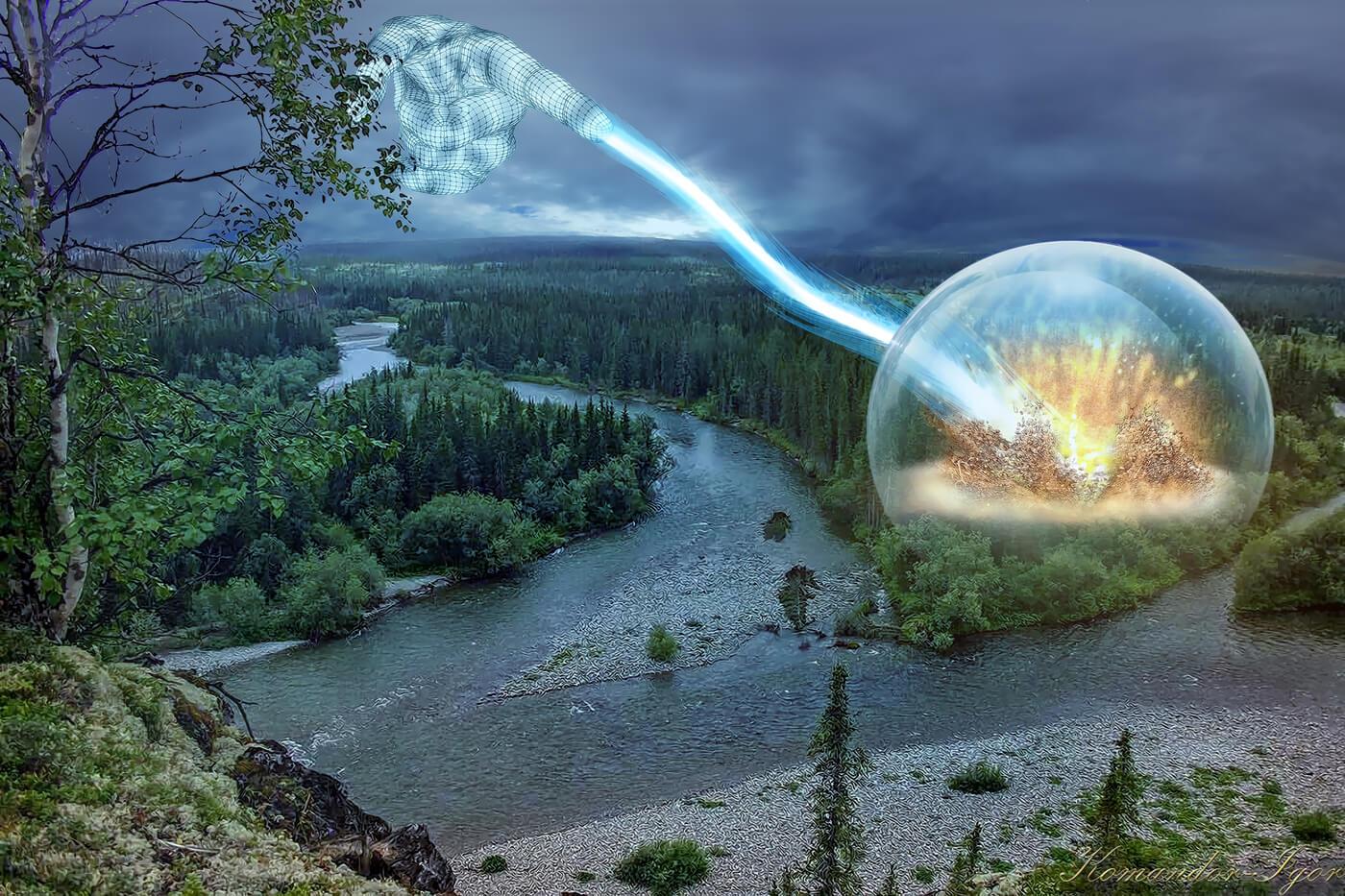 картинки метеорита тунгусский метеорит этот японский
